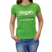 ProVegan T-Shirt Woman (grün)